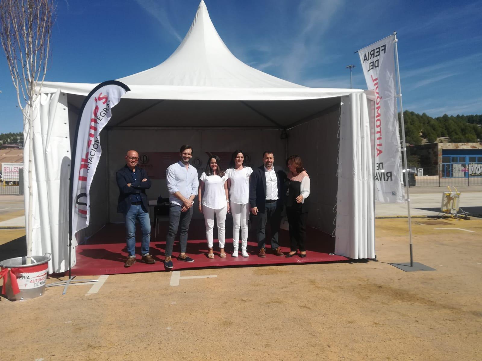 Dhemo´s Formación presente en la III Feria del Automóvil de Rivas